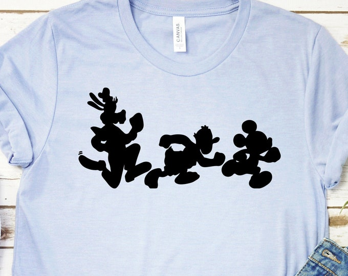 Run Disney Goofy Donald Mickey - Adult, Youth, Toddler, and Tanks-Over 100 Color Choices