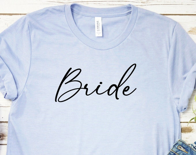 Bride - Adult tees and Tanks-Over 100 Color Choices