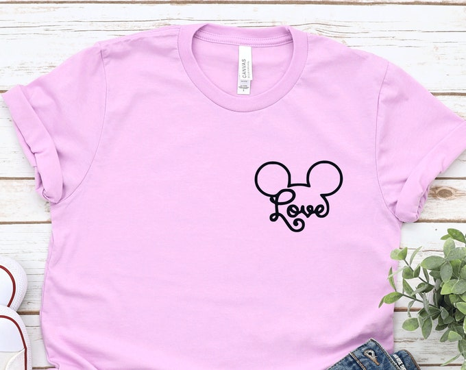 Mickey Love-  Magical Vacation Tee - Adult, Youth, Toddler, and Tanks-Over 100 Color Choices