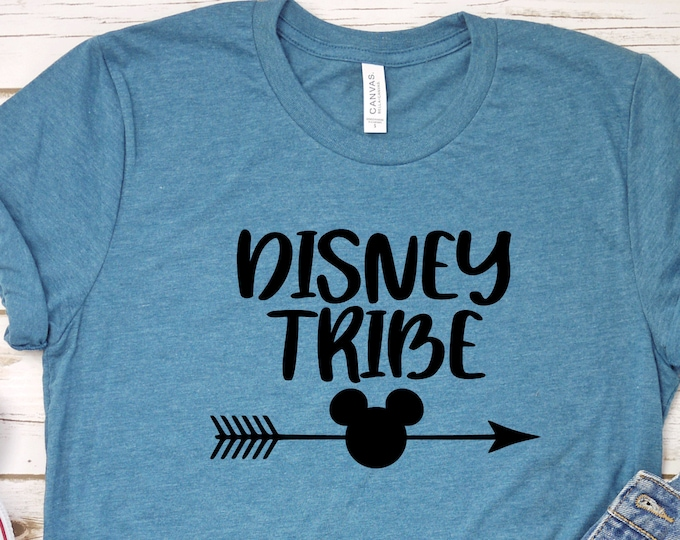 Disney Tribe, Magical Vacation Tee, Adult Youth Toddler and Tanks, Tie-Dye