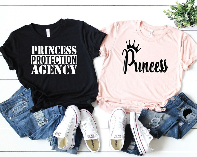 Princess and Princess Protection Agency - Magical Vacation Tee - Adult, Youth, Toddler, and Tanks-Over 100 Color Choices