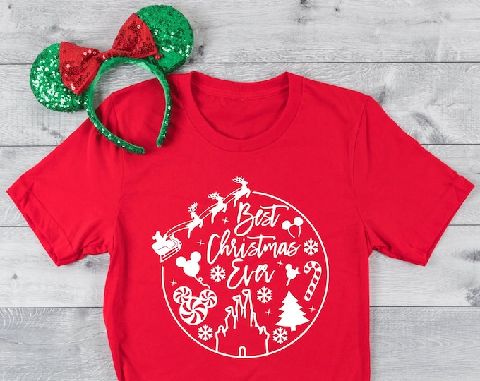Best Christmas Ever-  Magical Vacation Tee - Adult and Youth sizes