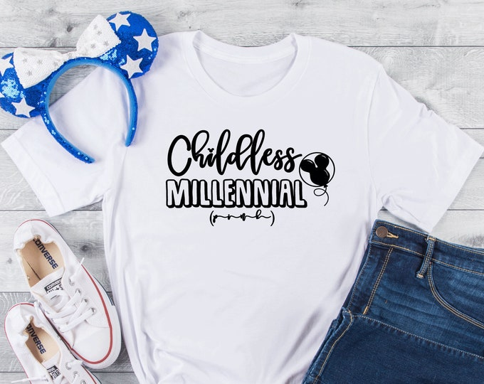 Childless Millennial Park-  Magical Vacation Tee - Adult, Youth, Toddler, and Tanks-Over 100 Color Choices