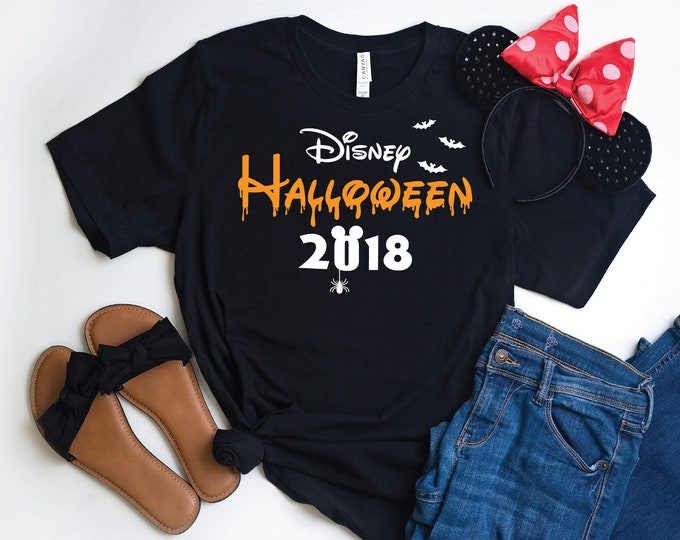 Disney Halloween 2018  -  Magical Vacation Tee - Adult, Youth, Toddler, and Tanks-Over 100 Color Choices