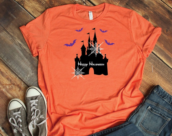 Spooky Castle -  Magical Vacation Tee - Adult, Youth, Toddler, and Tanks-Over 100 Color Choices