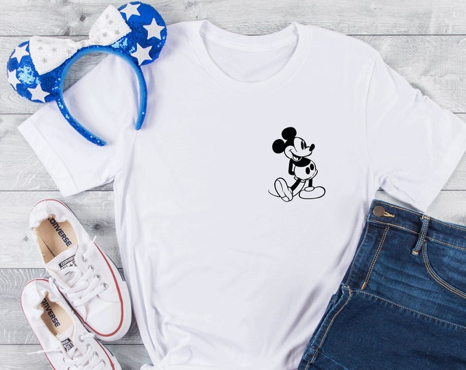 Retro Mickey -  Magical Vacation Tee - Adult, Youth, Toddler, and Tanks-Over 100 Color Choices