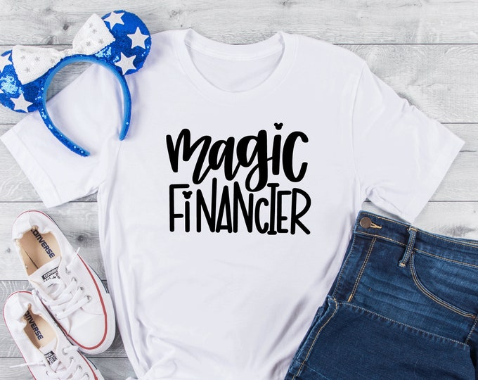 Magic Financier -  Magical Vacation Tee - Adult, Youth, Toddler, and Tanks-Over 100 Color Choices