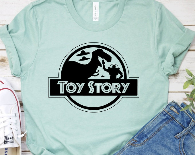 Toy Story- Adult, Youth, Toddler, and Tanks-Over 100 Color Choices