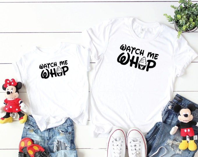 Watch Me Whip-  Magical Vacation Tee - Adult, Youth, Toddler, and Tanks-Over 100 Color Choices