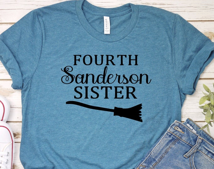 Fourth Sanderson Sister- Hocus Pocus - Adult, Youth, Toddler, and Tanks-Over 100 Color Choices