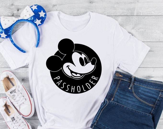 Disney Passholder -  Magical Vacation Tee - Adult, Youth, Toddler, and Tanks-Over 100 Color Choices