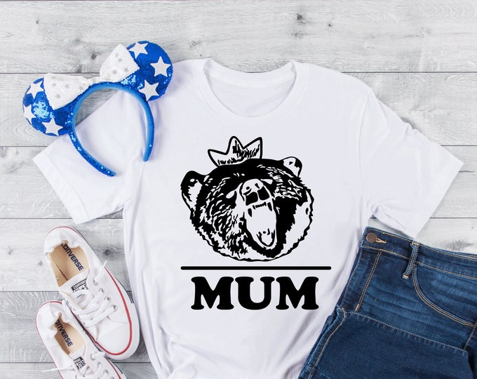 Meridas Mum Tee - Adult, Youth, Toddler, and Tanks-Over 100 Color Choices