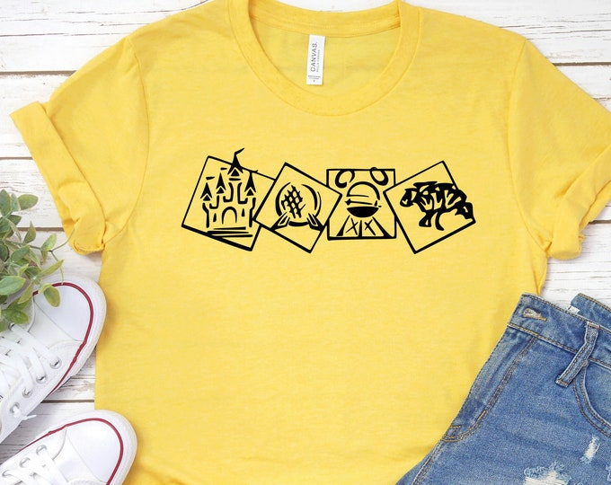 Disney Four Parks- Adult, Youth, Toddler, and Tanks-Over 100 Color Choices