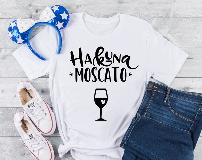 Hakuna Moscato- Magical Vacation Tee - Adult and Youth sizes