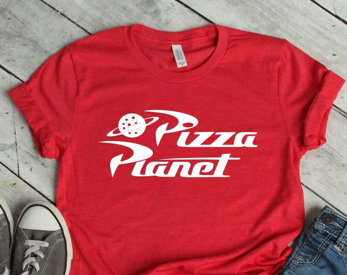 Pizza Planet - Toy Story - Adult, Youth, Toddler, and Tanks-Over 100 Color Choices