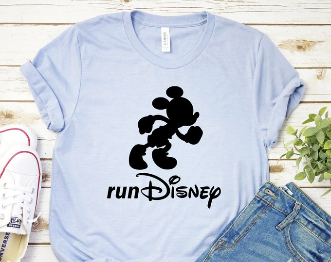 Mickey Mouse, Run Disney Marathon, Magic Kingdom, Disneys 5K, Adult Youth Toddler and Tank, Tie-Dye