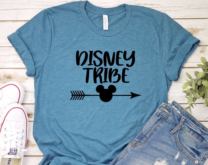 Disney Tribe -  Magical Vacation Tee - Adult, Youth, Toddler, and Tanks-Over 100 Color Choices