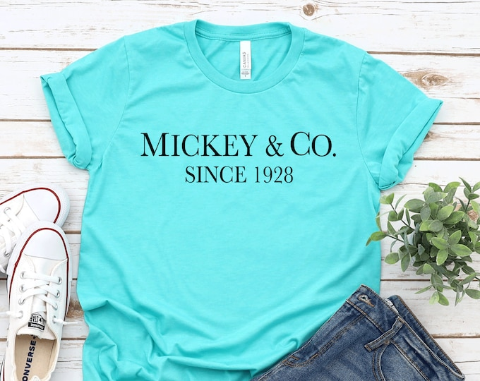 Mickey & Co- Adult, Youth, Toddler, and Tanks-Over 100 Color Choices