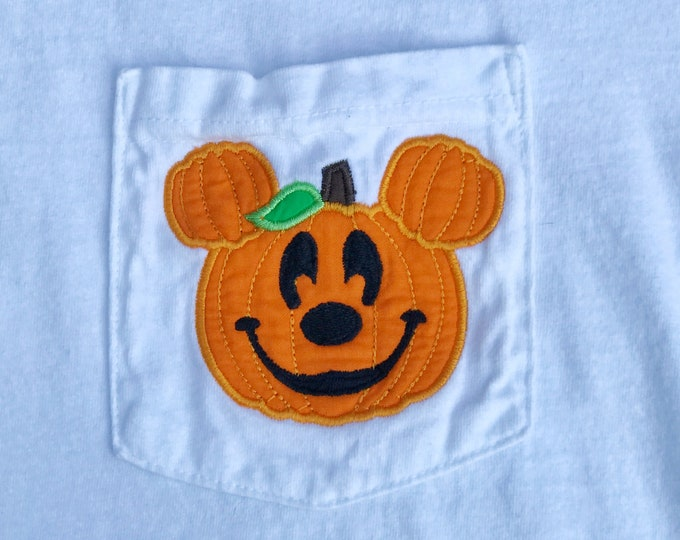 LONG SLEEVE - Mr. Mouse Pumpkin - perfect for Halloween in the park