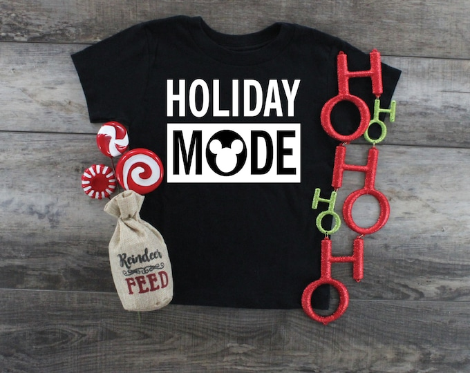 Holiday Mode-  Magical Vacation Tee - Adult, Youth, Toddler, and Tanks-Over 100 Color Choices
