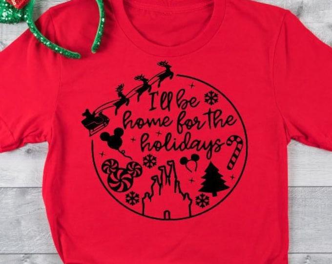 Home for the Holidays - Disney Christmas - Mickey Christmas - Mickey's Very Merry Christmas , Tie-Dye