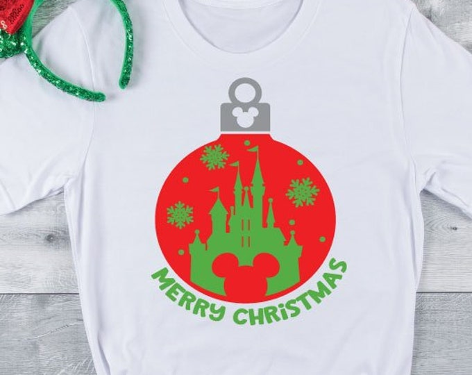 Merry Christmas- Disney Christmas - Magical Christmas - Christmas Vacation -Magical Vacation Tee - Adult, Youth, Toddler, and Tanks, Tie-Dye