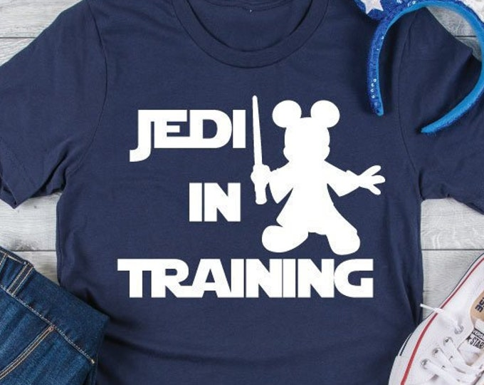 Jedi In Training - Disney Star Wars - Jedi - Darth Vader - Magical Vacation Tee - Adult, Youth, Toddler, and Tanks, Tie-Dye