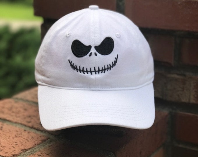 Disney Inspired Dad Hat - Jack Skellington