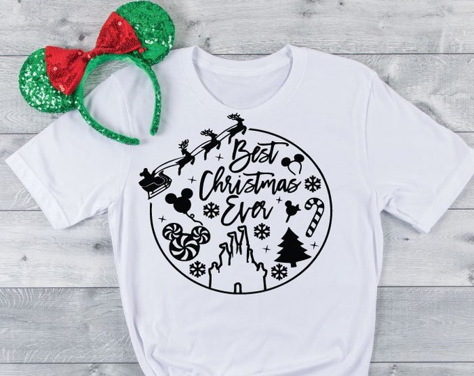Best Christmas Ever - Magical Vacation Tee - Adult, Youth, Toddler, and Tanks-Over 100 Color Choices