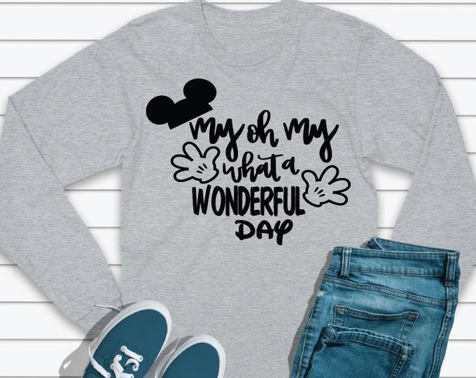 My Oh My -  Magical Vacation Tee - Adult and Youth sizes