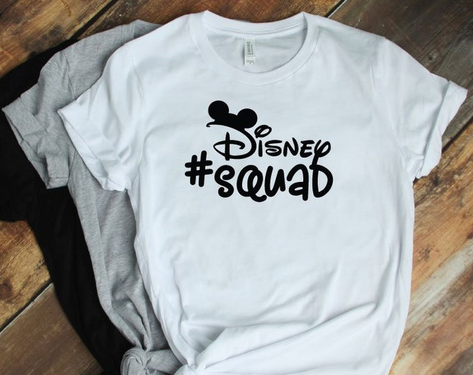 Disney Squad Mickey - Magical Vacation Tee - Adult, Youth, Toddler, and Tanks-Over 100 Color Choices