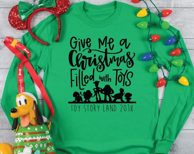 Toy Story Christmas -  Magical Vacation Tee - Adult and Youth sizes