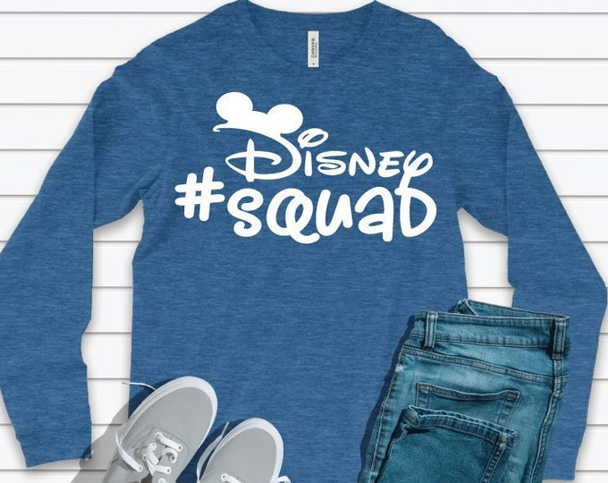 Disney Squad Mickey -  Magical Vacation Tee - Adult and Youth sizes