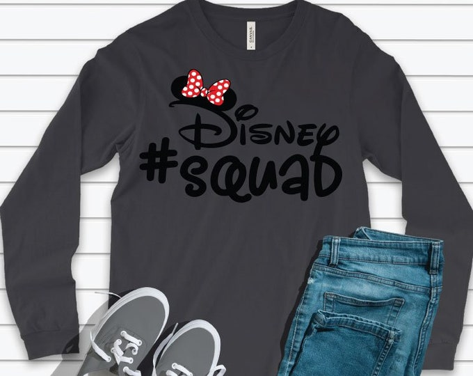 Disney Squad Minnie -  Magical Vacation Tee - Adult and Youth sizes