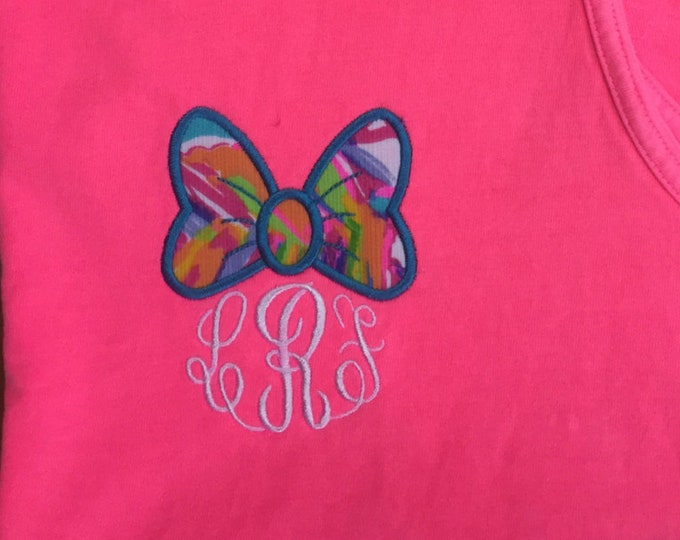 New Lilly Patterns**Comfort Colors Tanks, Minnie and Lilly - what could be better :)