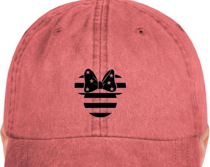 Disney Inspired Hat - Patriotic Minnie