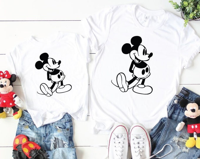 Vintage Mickey-  Magical Vacation Tee - Adult, Youth, Toddler, and Tanks-Over 100 Color Choices