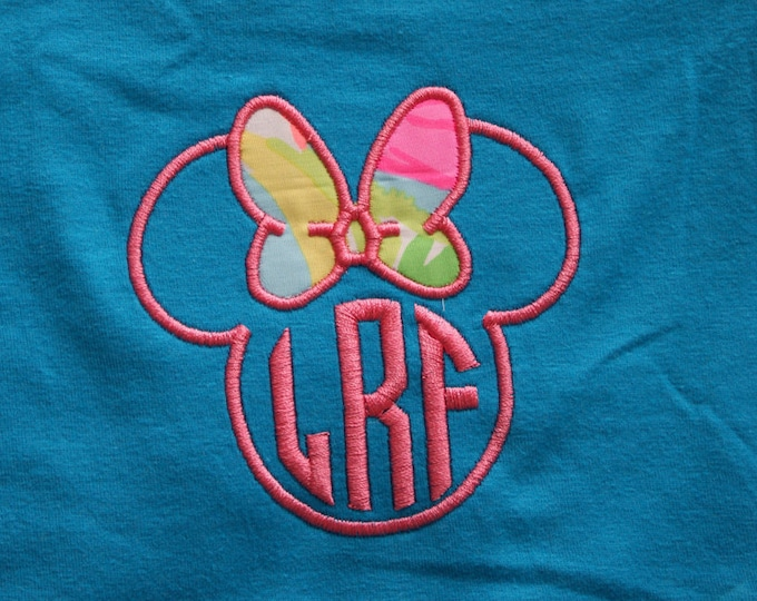V Neck short sleeve tee - Minnie and Lilly or Vera Disney - what could be better :)