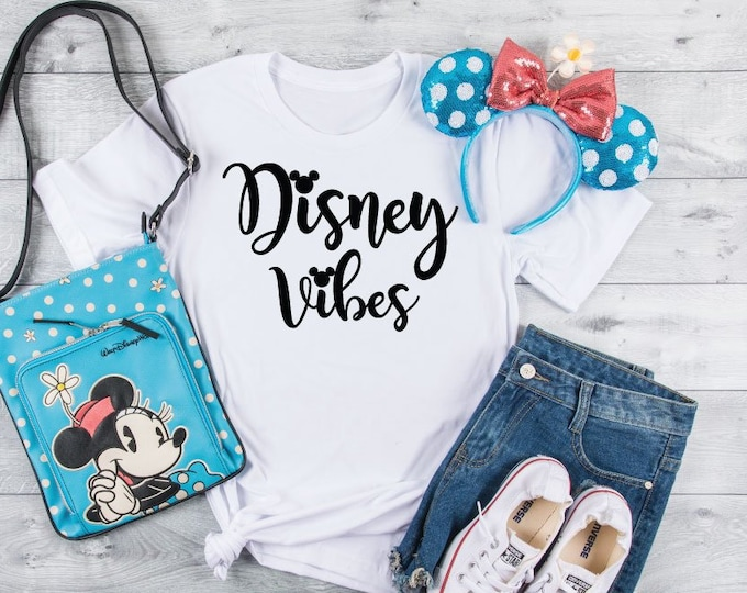 Disney Vibes-  Magical Vacation Tee - Adult, Youth, Toddler, and Tanks-Over 100 Color Choices