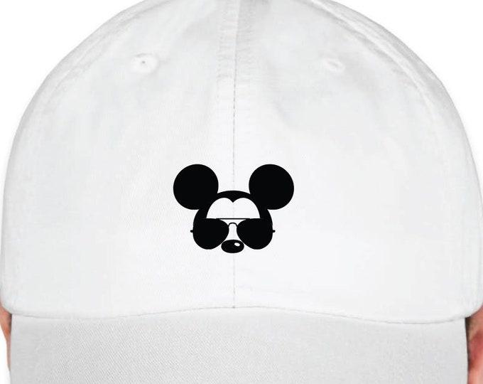 Disney Inspired Hat - Mickey Sunglasses