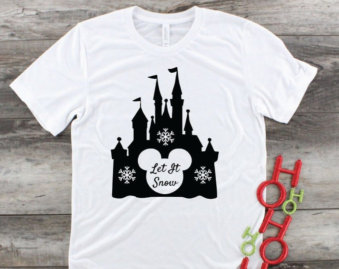 Let It Snow - Magical Vacation Tee - Adult, Youth, Toddler, and Tanks-Over 100 Color Choices