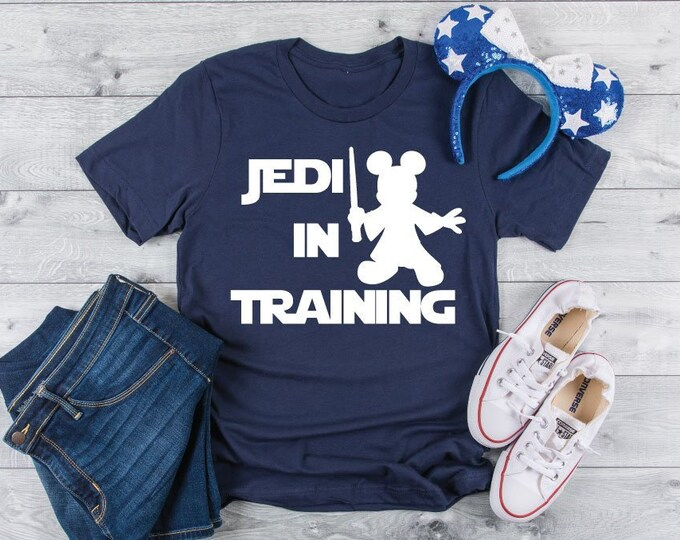 Jedi In Training - Magical Vacation Tee - Adult, Youth, Toddler, and Tanks-Over 100 Color Choices