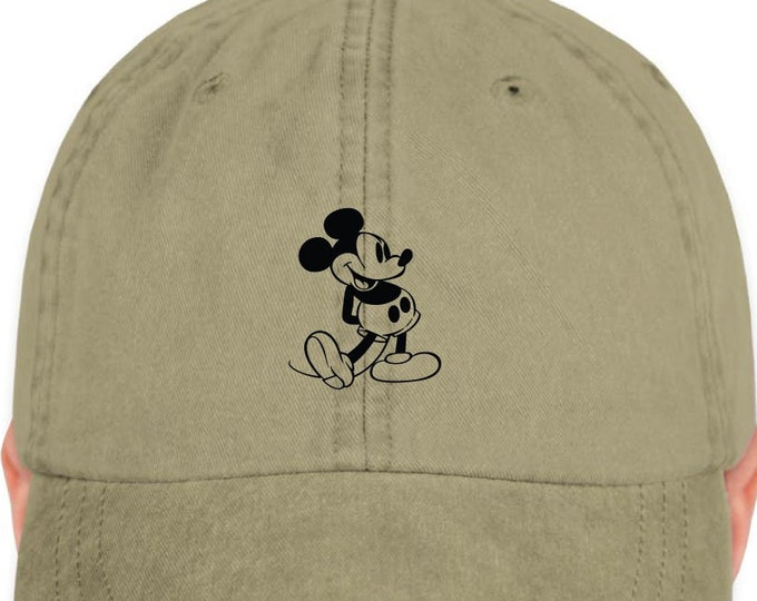 Disney Inspired Hat - Retro Mickey Dad Hat