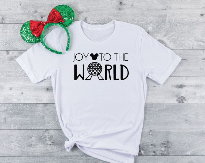 Joy To The World-  Magical Vacation Tee - Adult, Youth, Toddler, and Tanks-Over 100 Color Choices