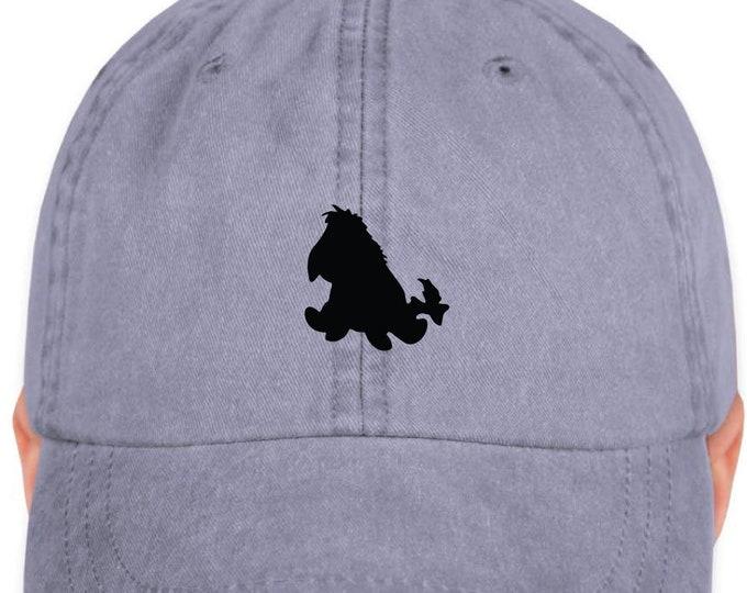 Disney Inspired Hat - Eeyore- Disney Hat - Eeyore Hat - Magic Hat - Mickey Hat
