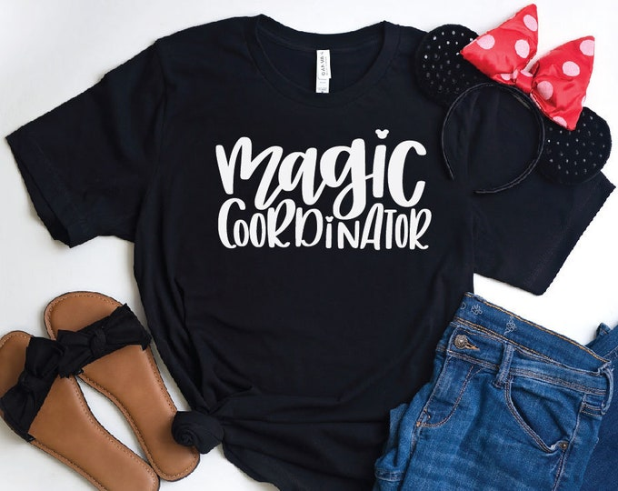 Magic Coordinator-  Magical Vacation Tee - Adult, Youth, Toddler, and Tanks-Over 100 Color Choices