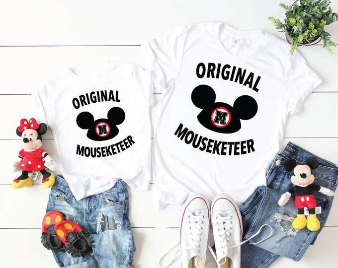 Original Mouseketeer -  Magical Vacation Tee - Adult, Youth, Toddler, and Tanks-Over 100 Color Choices