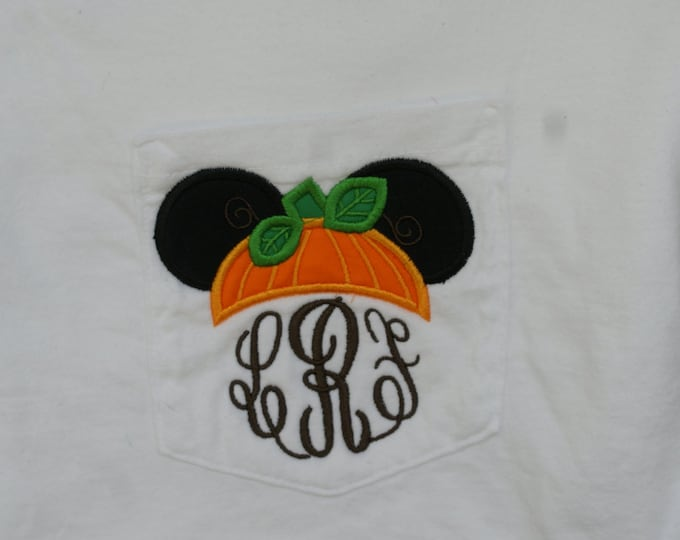 Mr. Mouse Pumpkin Ears - perfect for Halloween in the park