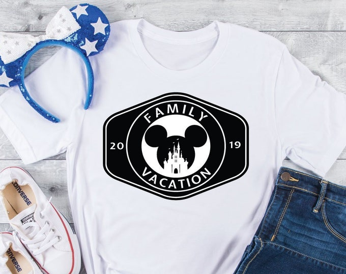 Mouse Ears Castle -  Disney Vacation Tee - Adult, Youth, Toddler, and Tanks-Over 100 Color Choices