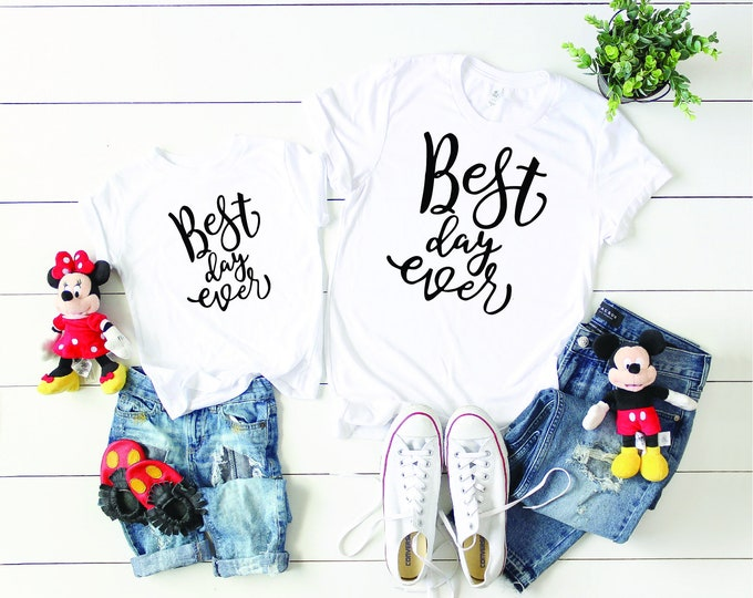 Best Day Ever Magical Vacation Tee - Adult, Youth, Toddler, and Tanks-Over 100 Color Choices